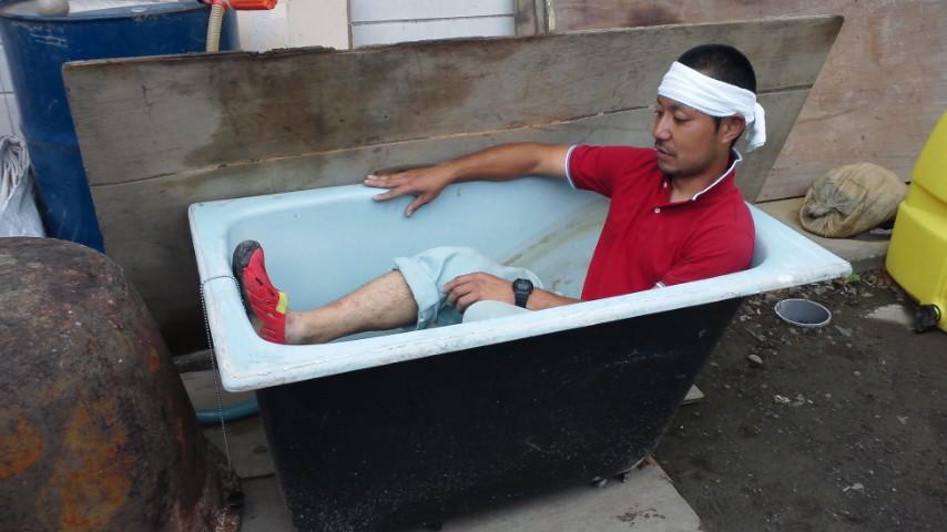風呂桶が来た!
