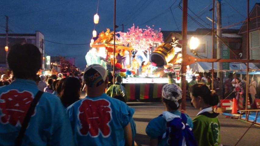 栗駒山車祭