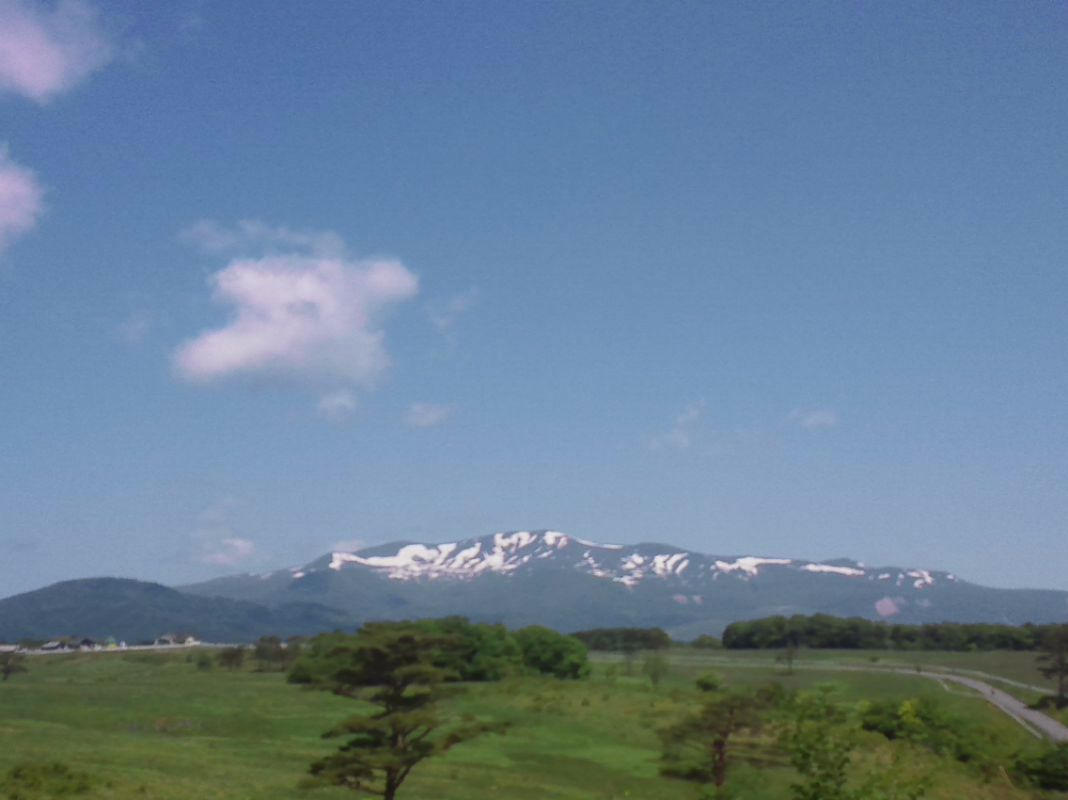 5月31日栗駒山
