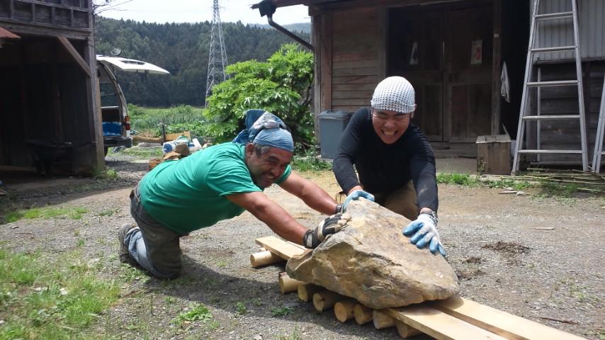 リオグランデ石窯作りその3