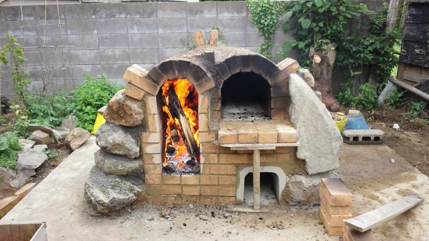 リオグランデ石窯作りその4