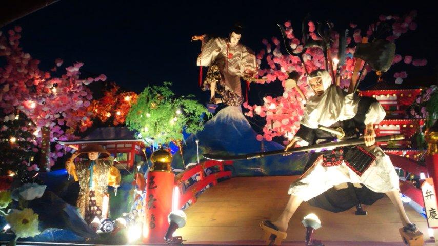 くりこま山車祭