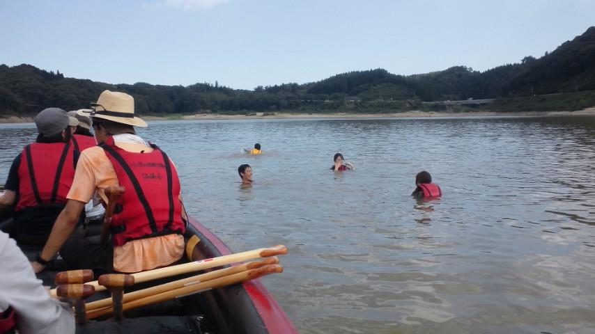 明日からは、森水キャンプ@<br />  花山