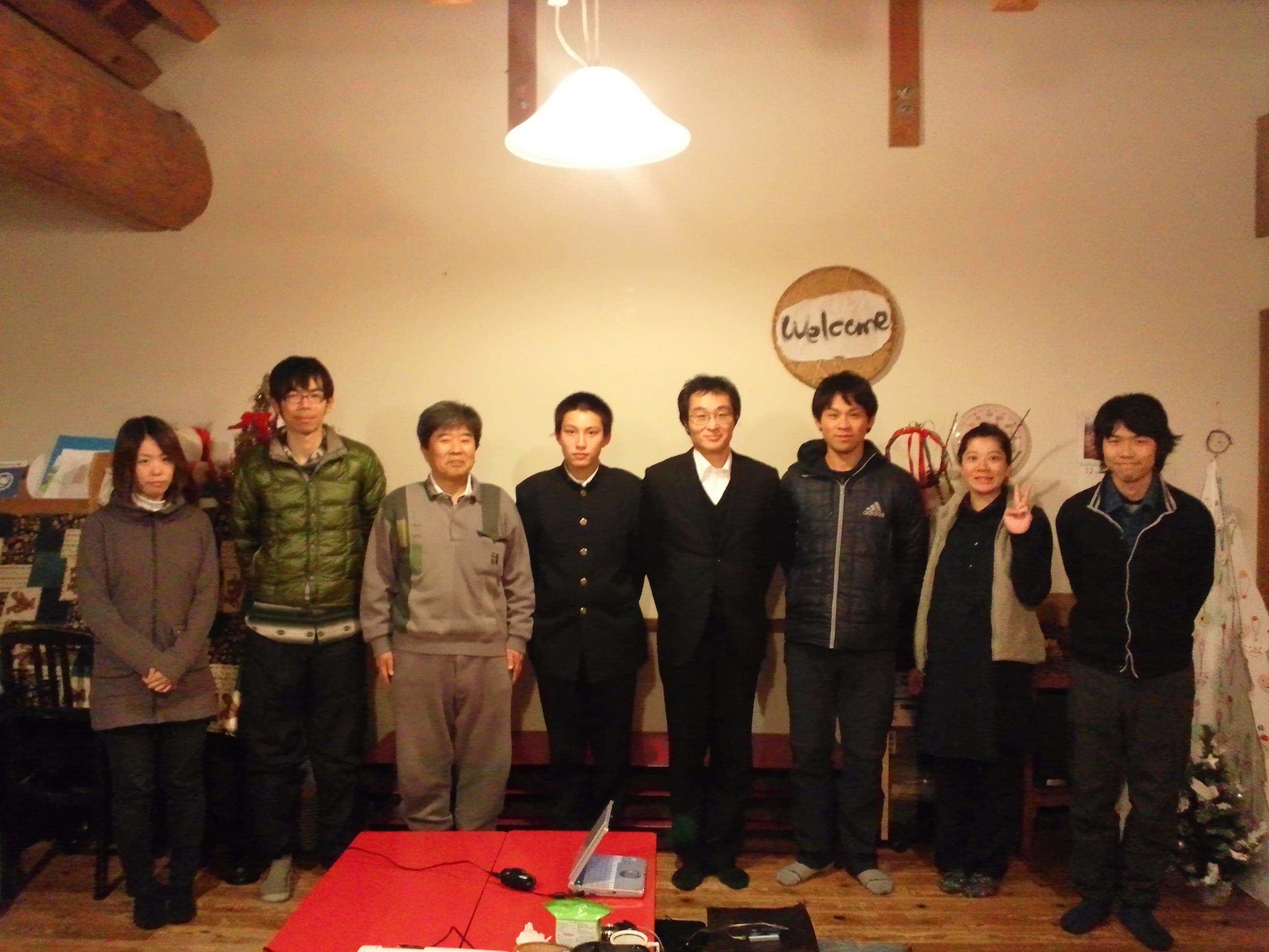 一年ぶりの津山工業高校